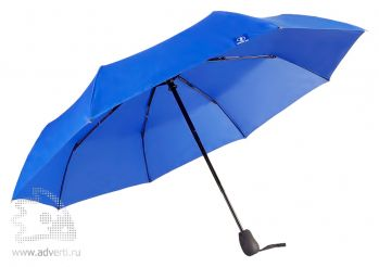 Зонт «Wind & Rain», полуавтомат, 3 сложения, внутренний дизайн купола