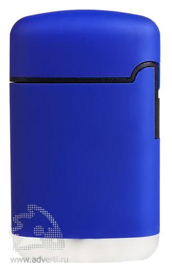 Зажигалка «Zenga», синяя