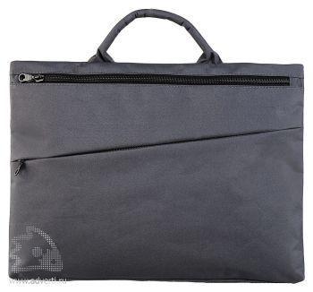 Конференц-сумка «Lyon», серая