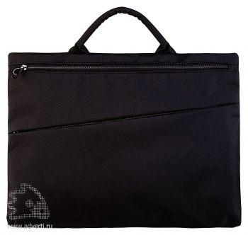 Конференц-сумка «Lyon», черная