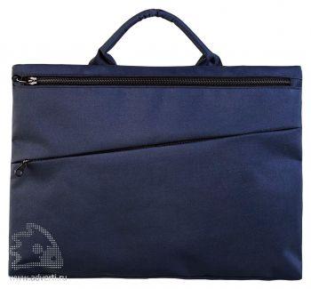 Конференц-сумка «Lyon». темно-синяя