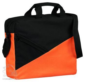 Конференц-сумка «Slice». оранжевая