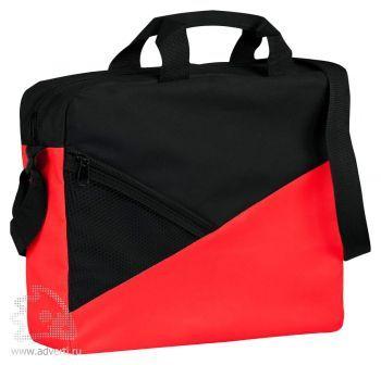 Конференц-сумка «Slice», красная