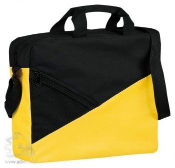 Конференц-сумка «Slice», желтая