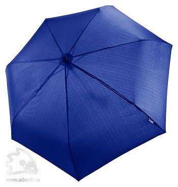 Зонт «Take it Duo», автомат, 3 сложения, синий