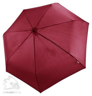 Зонт «Take it Duo», автомат, 3 сложения, бордовый