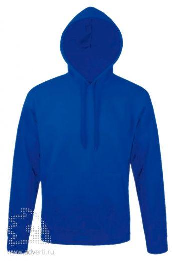 Толстовка с капюшоном «Snake 280», мужская, Sol's, Франция, ярко-синяя