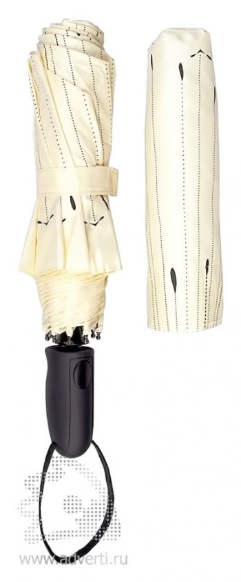 Зонт «Капли», полуавтомат, 3 сложения, дизайн чехла