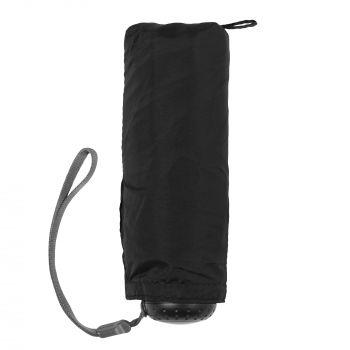 Зонт складной «811 X1», черный, сложенный