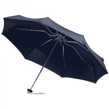 Зонт складной «811 X1», синий, в раскрытом виде