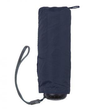 Зонт складной «811 X1», синий, сложенный