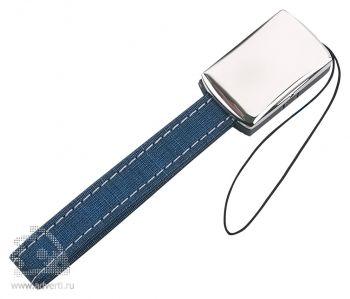 Подвеска для мобильного телефона «Связь», синяя
