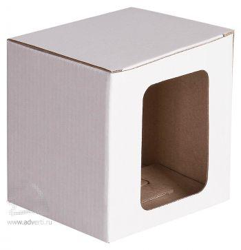 Упаковка Window под кружку, белая