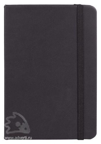 Записная книжка «Freenote mini», в линейку, черная