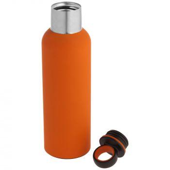 Термобутылка «Sherp», оранжевая, в открытом виде
