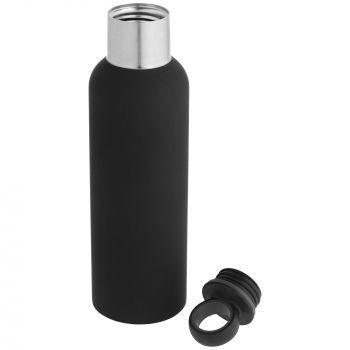 Термобутылка «Sherp», чёрная, в открытом виде