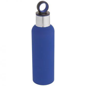 Термобутылка «Sherp», синяя