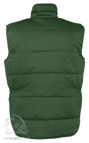 Жилет «Equinox Pro», темно-зеленый, спина