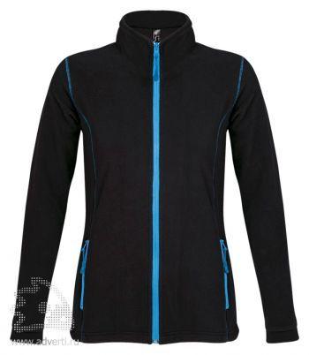 Толстовка «Nova Women 200», женская, черная с голубым