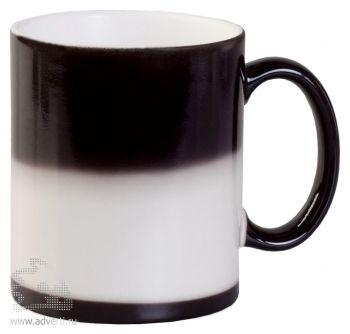 Кружка «Хамелеон», черная