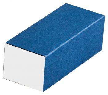 Подарочная коробочка под флешку, синяя