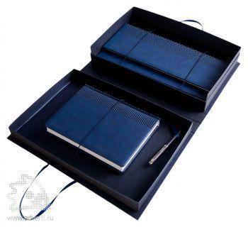 Коробка «Блеск» под набор: ежедневник А5 и планинг, общий вид