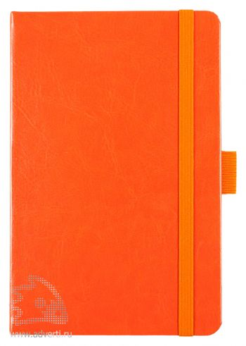 Блокнот «Freenote», оранжевый