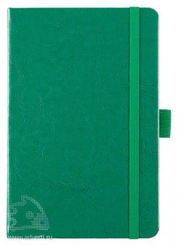 Блокнот «Freenote», зеленый