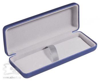 Футляр для 1 ручки, синий, открытый