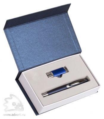 Набор подарочный «Блеск», синий
