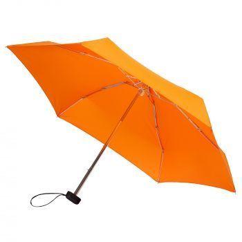 Зонт складной «Unit Five», механический, оранжевый