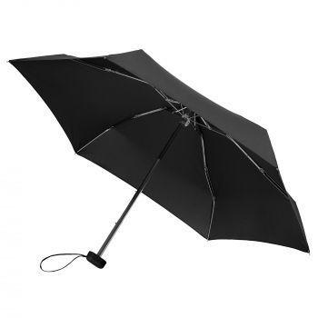 Зонт складной «Unit Five», механический, черный