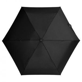 Зонт складной «Unit Five», механический, черный, купол