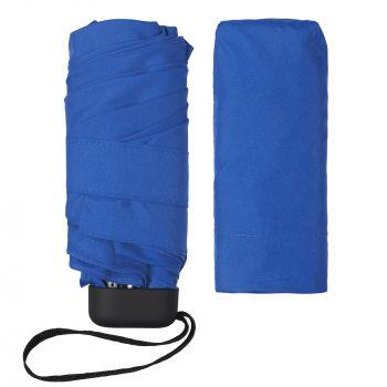 Зонт складной «Unit Five», механический, синий, без чехла
