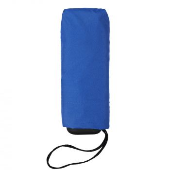 Зонт складной «Unit Five», механический, синий, складной вид