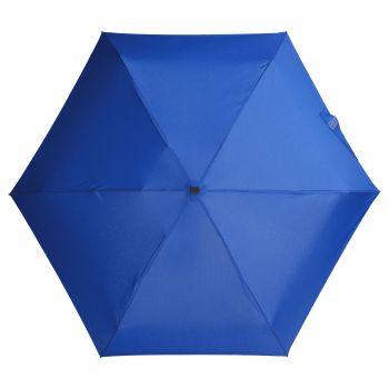 Зонт складной «Unit Five», механический, синий, купол