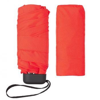 Зонт складной «Unit Five», механический, красный, без чехла