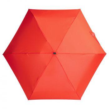 Зонт складной «Unit Five», механический, красный, купол