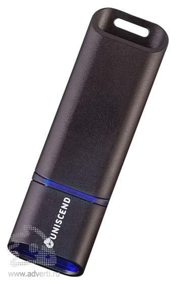 Флешка «Uniscend Slalom», синяя