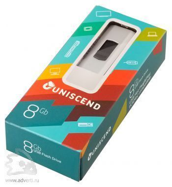 Флешка «Uniscend Alum» на 8 Gb в упаковке