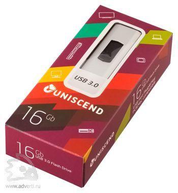 Флешка «Uniscend Alum» на 16 Gb в упаковке
