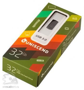 Флешка «Uniscend Alum» на 32 Gb в упаковке