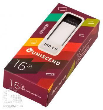 Флешка «Uniscend Turn» на 16 Gb в упаковке