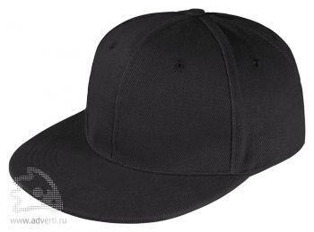 Бейсболка «Unit Snapback», черная