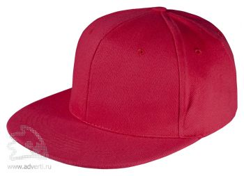 Бейсболка «Unit Snapback», красная