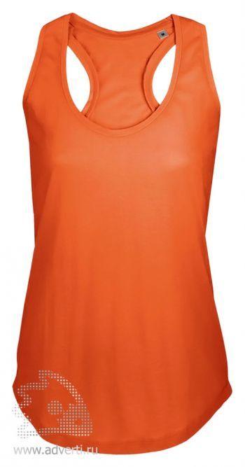 Майка «MOKA 110», женская, оранжевая