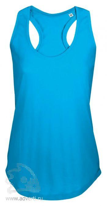 Майка «MOKA 110», женская, голубая