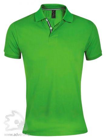 Рубашка поло «Patriot 200» мужская, Sol's, Франция, зеленая