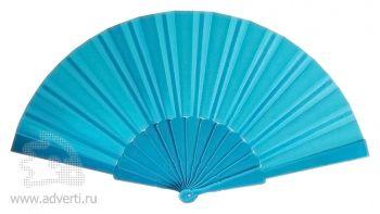 Складной веер «Фан-фан», голубой