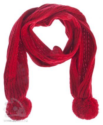 Шарф «Comfort», красный